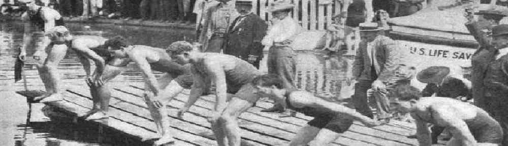 history of triathlon 1900s through 1920s france